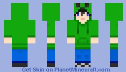 Creeper jumper male Minecraft Skin