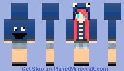 Girl Paragonnova Minecraft Skin