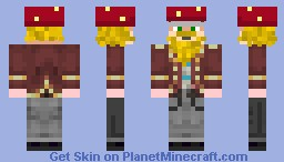 Alchemist Mage Husband Minecraft Skin