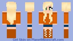 Autumn Girl Minecraft Skin