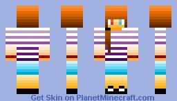 [My FIRST Shading Skin!!] Minecraft Skin
