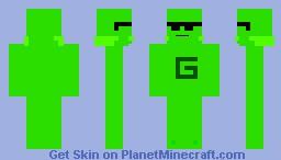 Mr. Green Minecraft Skin