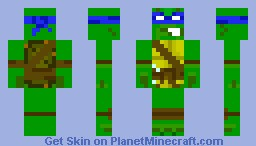 Leonardo (2003 Version) Minecraft Skin