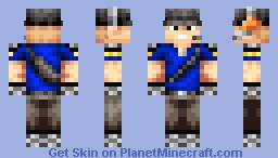 Scout Armor (Armor Shading Test) Minecraft Skin