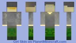 German Paratrooper Minecraft Skin
