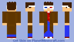 10th Doctor {Void Glasses} Minecraft Skin