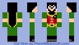 Slyfoxhound (AS ROBIN) Minecraft Skin