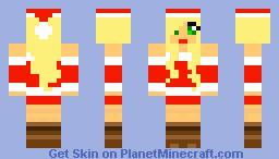 Sexy santa girl Minecraft Skin