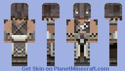 Skyrim: Dovakhiin Dragonborn  [Diamond?] Minecraft Skin