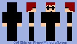 Agent BOB Minecraft Skin