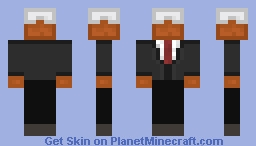 Cake in a suit! Minecraft Skin