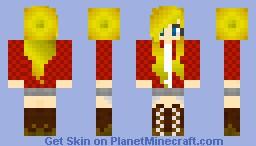 Cowgirl Minecraft Skin