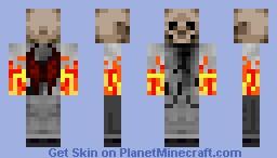 skull ghost Minecraft Skin