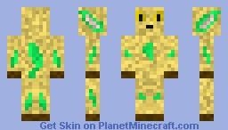 Leafeon Minecraft Skin