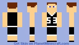 Basketball Player for logenbolt Minecraft Skin