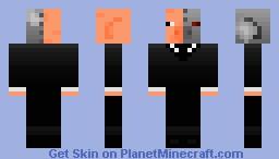 Pigrobot Minecraft Skin