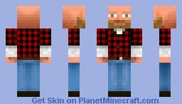 A lumber jack! Minecraft Skin