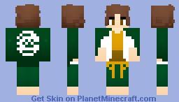 Yasuhiro Hagakure - Dangan Ronpa Minecraft Skin