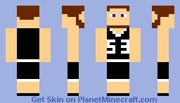 Basketball Player for logenbolt *BEARD* Minecraft Skin