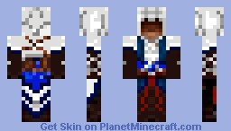 Connor Assassin's Creed 3 (Better Picture in Description) Minecraft
