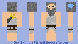 Poseidon Minecraft Skin