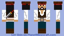 captain jack sperrow Minecraft Skin