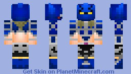 Ultimate Muscle : Kevin Mask Minecraft Skin