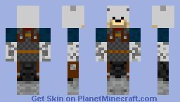 Dog warrior! Minecraft Skin