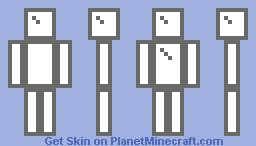 Glass Man Minecraft Skin