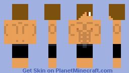 Muscle Man Minecraft Skin