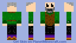Elderly Man Minecraft Skin