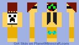Alien Dim,The Creeper Fan Minecraft Skin