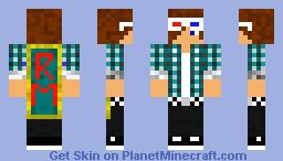 CAPE GUY Minecraft Skin