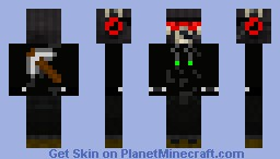 Black miner ghost