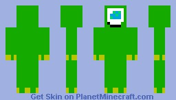 Mike (Monsters' Inc.) [Contest skin] Minecraft Skin