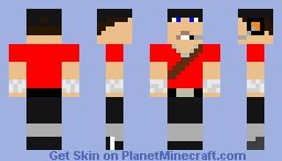 Scout TF2 v.1.2 Minecraft Skin