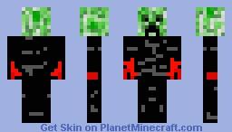 Creeper with...? Minecraft Skin