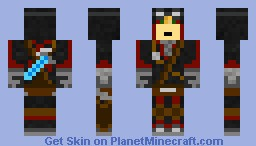 ninja pilot (better in preview) Minecraft Skin