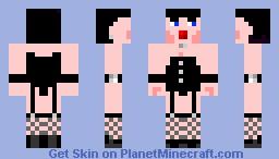 Betty Page Minecraft Skin
