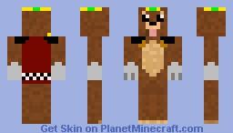 King Bear the King of Bears Minecraft Skin