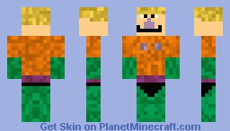 Mermaid Man-Under the sea minecraft skin contest