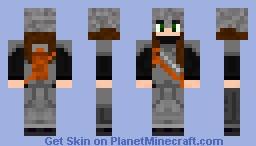 Girl Archer. Minecraft Skin