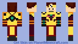 Ulrich Stern - Code Lyoko Minecraft Skin