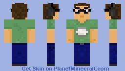 EddieRuckus Minecraft Skin