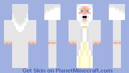 Gandalf The White Minecraft Skin