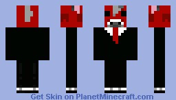 Mooshroom in a suit Minecraft