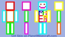 Color Minecraft Skin