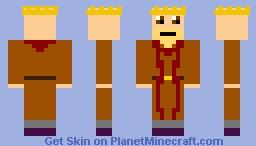 King Harlaus (Mount & Blade) Minecraft Skin