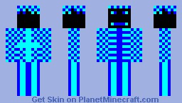 Electro Skin Minecraft Skin