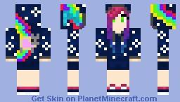 NyanGirl Minecraft Skin